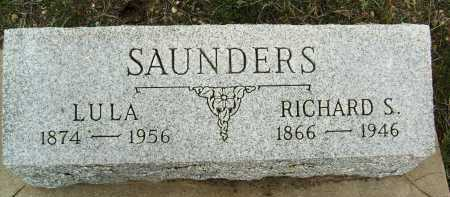 SAUNDERS, LULA - Boulder County, Colorado | LULA SAUNDERS - Colorado Gravestone Photos