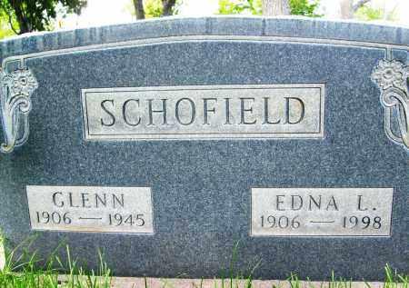 SCHOFIELD, EDNA L. - Boulder County, Colorado | EDNA L. SCHOFIELD - Colorado Gravestone Photos