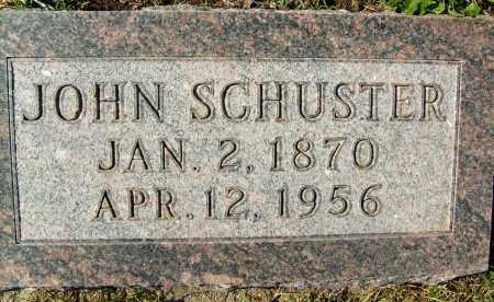 SCHUSTER, JOHN - Boulder County, Colorado   JOHN SCHUSTER - Colorado Gravestone Photos