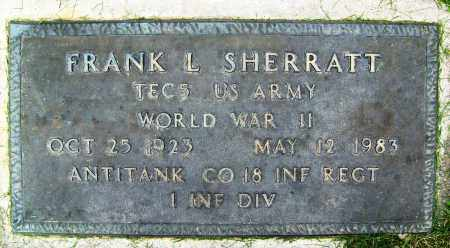 SHERRATT, FRANK L. - Boulder County, Colorado | FRANK L. SHERRATT - Colorado Gravestone Photos