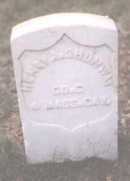 SHUMWAY, HENRY A. - Boulder County, Colorado | HENRY A. SHUMWAY - Colorado Gravestone Photos