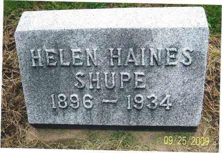 SHUPE, HELEN - Boulder County, Colorado | HELEN SHUPE - Colorado Gravestone Photos