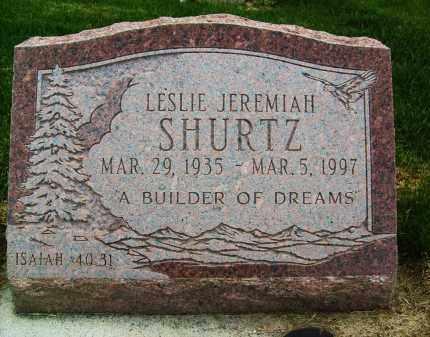 SHURTZ, LESLIE JEREMIAH - Boulder County, Colorado | LESLIE JEREMIAH SHURTZ - Colorado Gravestone Photos