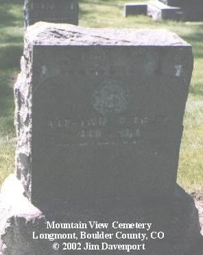 SIBLEY, NATHANIAL D. - Boulder County, Colorado   NATHANIAL D. SIBLEY - Colorado Gravestone Photos
