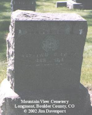 SIBLEY, NATHANIAL D. - Boulder County, Colorado | NATHANIAL D. SIBLEY - Colorado Gravestone Photos