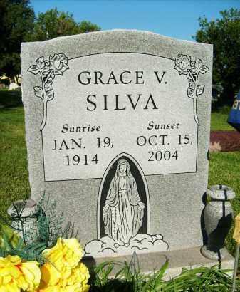 SILVA, GRACE V. - Boulder County, Colorado   GRACE V. SILVA - Colorado Gravestone Photos