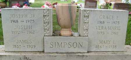 SIMPSON, JAMES - Boulder County, Colorado | JAMES SIMPSON - Colorado Gravestone Photos