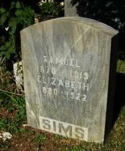 SIMS, SAMUEL - Boulder County, Colorado | SAMUEL SIMS - Colorado Gravestone Photos