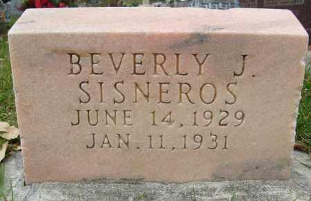 SISNEROS, BEVERLY J. - Boulder County, Colorado | BEVERLY J. SISNEROS - Colorado Gravestone Photos