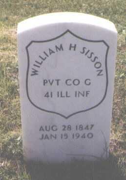 SISSON, WILLIAM H. - Boulder County, Colorado | WILLIAM H. SISSON - Colorado Gravestone Photos