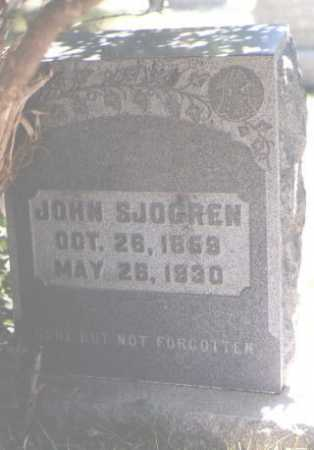 SJOGREN, JOHN - Boulder County, Colorado | JOHN SJOGREN - Colorado Gravestone Photos