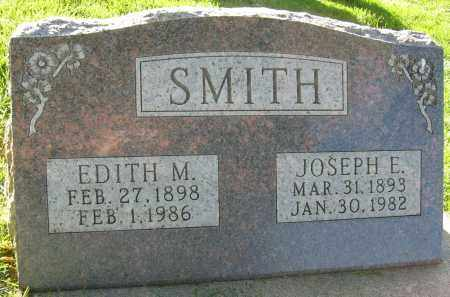 SMITH, EDITH M. - Boulder County, Colorado   EDITH M. SMITH - Colorado Gravestone Photos