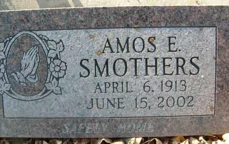 SMOTHERS, AMOS E. - Boulder County, Colorado | AMOS E. SMOTHERS - Colorado Gravestone Photos
