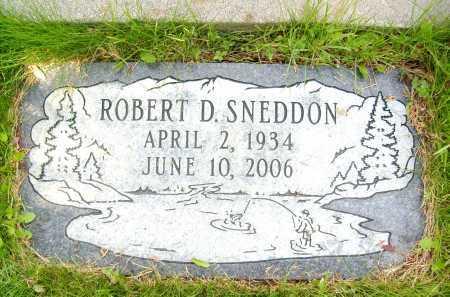 SNEDDON, ROBERT D. - Boulder County, Colorado | ROBERT D. SNEDDON - Colorado Gravestone Photos