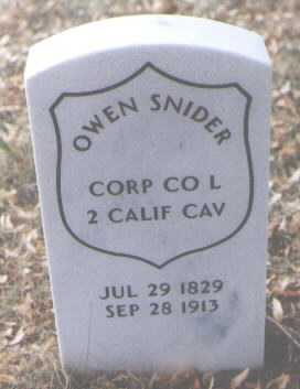SNIDER, OWEN - Boulder County, Colorado | OWEN SNIDER - Colorado Gravestone Photos