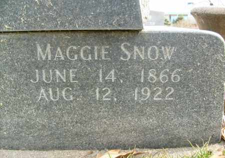 SNOW, MAGGIE - Boulder County, Colorado | MAGGIE SNOW - Colorado Gravestone Photos