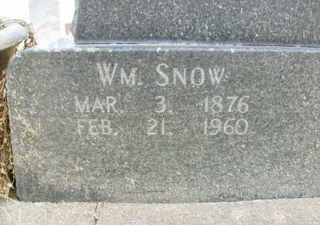 SNOW, WILLIAM - Boulder County, Colorado   WILLIAM SNOW - Colorado Gravestone Photos