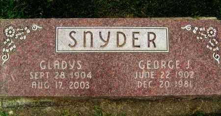 SNYDER, GEORGE J. - Boulder County, Colorado | GEORGE J. SNYDER - Colorado Gravestone Photos