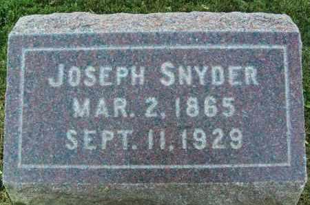 SNYDER, JOSEPH - Boulder County, Colorado   JOSEPH SNYDER - Colorado Gravestone Photos