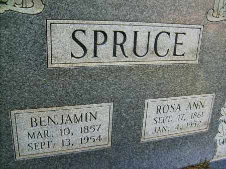 SPRUCE, BENJAMIN - Boulder County, Colorado   BENJAMIN SPRUCE - Colorado Gravestone Photos