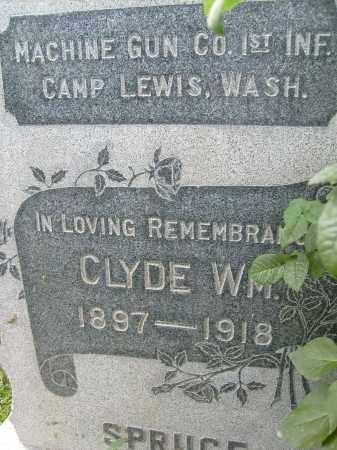 SPRUCE, CLYDE WM. - Boulder County, Colorado | CLYDE WM. SPRUCE - Colorado Gravestone Photos