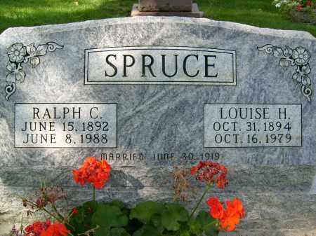 SPRUCE, LOUISE H. - Boulder County, Colorado | LOUISE H. SPRUCE - Colorado Gravestone Photos