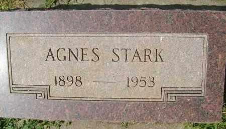 STARK, AGNES - Boulder County, Colorado | AGNES STARK - Colorado Gravestone Photos