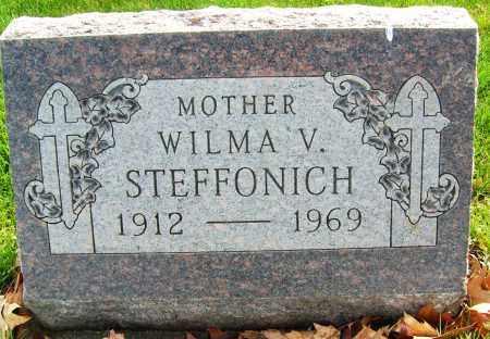 STEFFONICH, WILMA V. - Boulder County, Colorado | WILMA V. STEFFONICH - Colorado Gravestone Photos