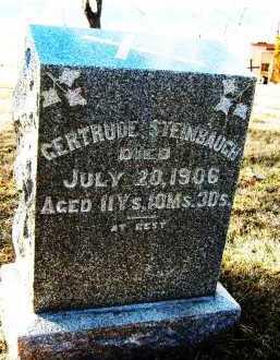 STEINBAUGH, GERTRUDE - Boulder County, Colorado | GERTRUDE STEINBAUGH - Colorado Gravestone Photos