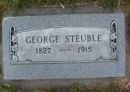 STEUBLE, GEORGE - Boulder County, Colorado   GEORGE STEUBLE - Colorado Gravestone Photos