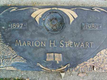 STEWART, MARION H. - Boulder County, Colorado   MARION H. STEWART - Colorado Gravestone Photos