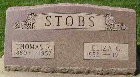 STOBS, THOMAS R. - Boulder County, Colorado | THOMAS R. STOBS - Colorado Gravestone Photos