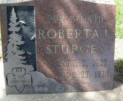 STURGES, ROBERTA L. - Boulder County, Colorado   ROBERTA L. STURGES - Colorado Gravestone Photos