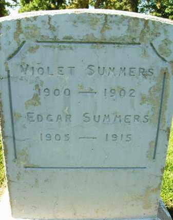 SUMMERS, VIOLET - Boulder County, Colorado | VIOLET SUMMERS - Colorado Gravestone Photos