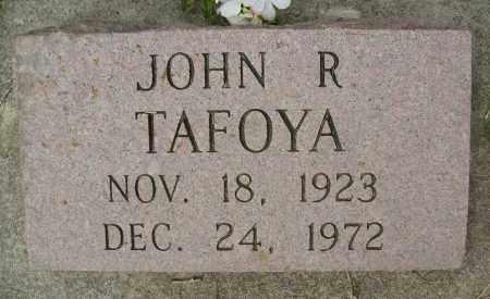TAFOYA, JOHN R. - Boulder County, Colorado   JOHN R. TAFOYA - Colorado Gravestone Photos