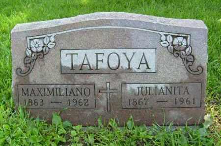 TAFOYA, MAXIMILIANO - Boulder County, Colorado | MAXIMILIANO TAFOYA - Colorado Gravestone Photos