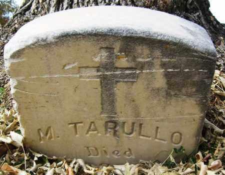 TARULLO, M. - Boulder County, Colorado | M. TARULLO - Colorado Gravestone Photos
