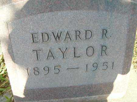 TAYLOR, EDWARD R. - Boulder County, Colorado   EDWARD R. TAYLOR - Colorado Gravestone Photos