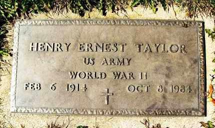 TAYLOR, HENRY ERNEST - Boulder County, Colorado | HENRY ERNEST TAYLOR - Colorado Gravestone Photos