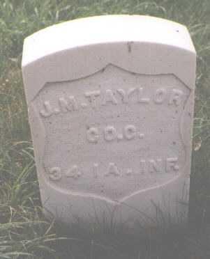 TAYLOR, J. M. - Boulder County, Colorado | J. M. TAYLOR - Colorado Gravestone Photos
