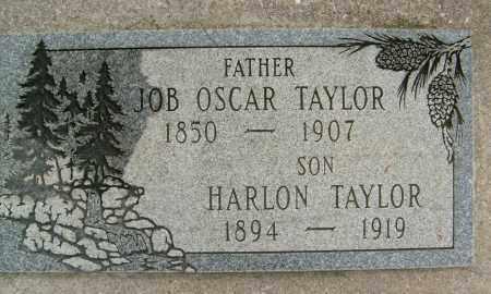 TAYLOR, JOB OSCAR - Boulder County, Colorado | JOB OSCAR TAYLOR - Colorado Gravestone Photos
