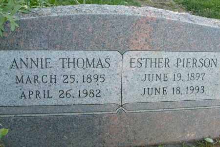 THOMAS, ANNIE - Boulder County, Colorado | ANNIE THOMAS - Colorado Gravestone Photos