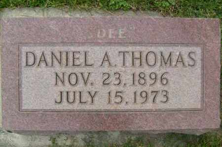 THOMAS, DANIEL A. - Boulder County, Colorado | DANIEL A. THOMAS - Colorado Gravestone Photos
