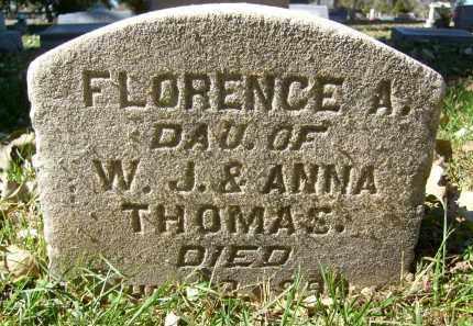 THOMAS, FLORENCE A. - Boulder County, Colorado   FLORENCE A. THOMAS - Colorado Gravestone Photos