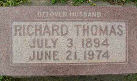 THOMAS, RICHARD - Boulder County, Colorado | RICHARD THOMAS - Colorado Gravestone Photos