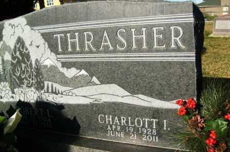 THRASHER, CHARLOTT I. - Boulder County, Colorado | CHARLOTT I. THRASHER - Colorado Gravestone Photos