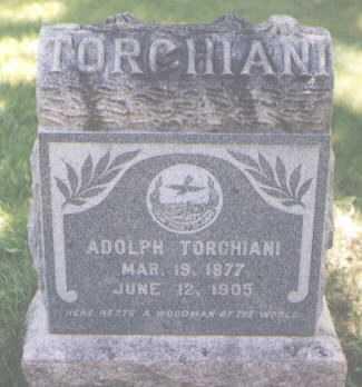 TORCHIANI, ADOLPH - Boulder County, Colorado   ADOLPH TORCHIANI - Colorado Gravestone Photos