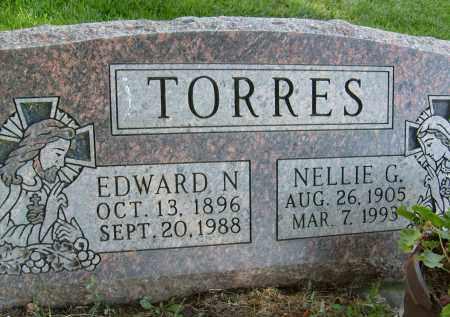 TORRES, NELLIE G. - Boulder County, Colorado   NELLIE G. TORRES - Colorado Gravestone Photos