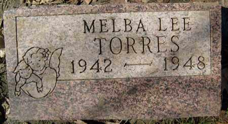 TORRES, MELBA LEE - Boulder County, Colorado   MELBA LEE TORRES - Colorado Gravestone Photos