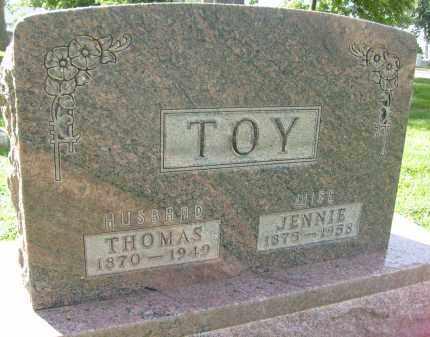 TOY, JENNIE - Boulder County, Colorado | JENNIE TOY - Colorado Gravestone Photos